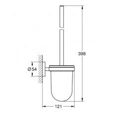 Туалетный ерш GROHE ESSENTIALS, 40374001