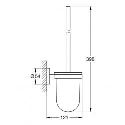 Туалетный ёршик Grohe Essentials New, 40374001