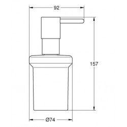 Дозатор жидкого мыла GROHE ESSENTIALS, 40394001