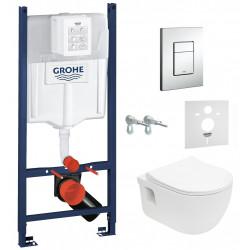 Комплект: Инсталляция GROHE Rapid SL 3884000G + унитаз VOLLE Altea Rimless 13-64-267 + сиденье Slim Soft Close +37131000