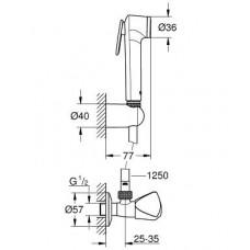 Гигиенический душ GROHE Tempesta-F Trigger Spray 30 27514001