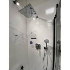 Душевая система скрытого монтажа для душа 7в1 KLUDI Pure&Style 406300575, хром