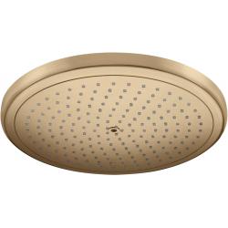 Верхний душ Hansgrohe Croma 280 1jet Ecosmart 9 л / мин Brushed Bronze 26221140