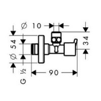 Набор смесителей Hansgrohe Logis 100, с вентилями, 711716411