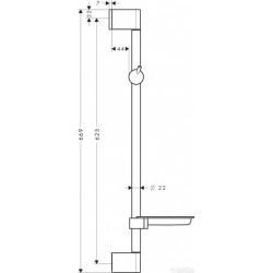 Душевая штанга Hansgrohe Unica M2, 27328000