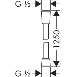 Душевой шланг Hansgrohe Isiflex, 125 см, 28272000