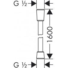 Душевой шланг Hansgrohe Isiflex 160 см 28276000