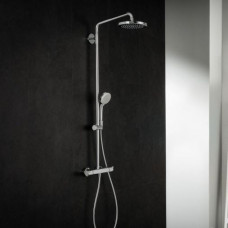 Душевая система Hansgrohe Croma 220 Showerpipe +термостат 27185000
