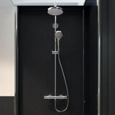 Душевая система Hansgrohe Croma Select S 180 2jet Showerpipe  цв белый 27253400