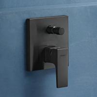 Смеситель скрытого монтажа для ванны/душа Hansgrohe Metropol Brushed Black 32545340