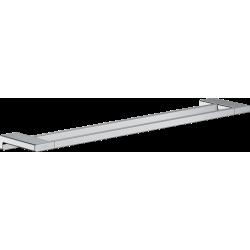 Двойной держатель для банных полотенец Hansgrohe AddStoris 41743000 хром