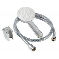 Ручной душ Hansgrohe Crometta 100 Vario Porter +держатель+шланг цв белый хром 26666400