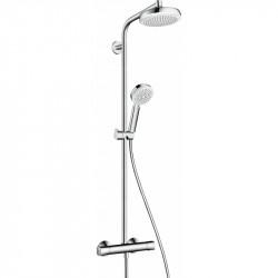 Душевая система с термостатом Hansgrohe Crometta 160 ShowerPipe 27264400
