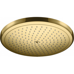 Верхний душ Hansgrohe Croma 280 1jet Ecosmart 9 л / мин Polished Gold Optic 26221990
