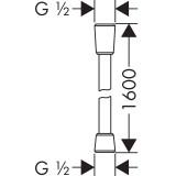 Душевой шланг Hansgrohe ISIFLEX 160 см (28276670)