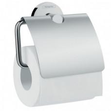 Держатель туалетной бумаги с крышкой Hansgrohe Logis 41723000