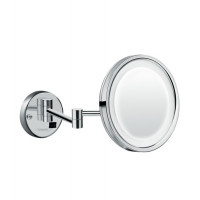 Зеркало косметическое с LED подсветкой Hansgrohe Logis 73560000