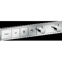 Термостат Hansgrohe RainSelect скрытого монтажа на 3 потребителя Chrome 15381000
