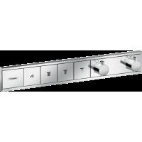 Термостат Hansgrohe RainSelect скрытого монтажа на 4 потребителя Chrome 15382000
