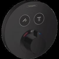 Термостат для душа Hansgrohe ShowerSelect S Matt Black 15743670