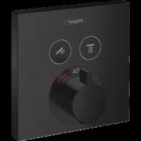 Термостат для душа Hansgrohe ShowerSelect Matt Black 15763670