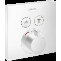 Термостат для душа Hansgrohe ShowerSelect Matt White 15763700