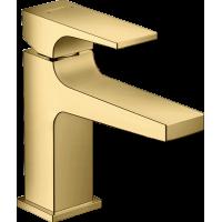 Смеситель для раковины Hansgrohe Metropol с донным клапаном Push-Open Polished Gold Optic  32500990