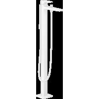 Смеситель для ванны напольный Hansgrohe Metropol Matt White 32532700