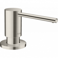Дозатор кухонный Hansgrohe A41 для моющего средства 500 ml Stainless Steel Finish 40438800