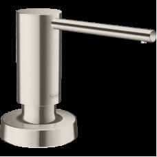 Дозатор кухонный Hansgrohe A51 для моющего средства 500 ml Stainless Steel Finish 40448800