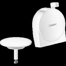 Внешняя часть сифона для ванны Hansgrohe Exafill S Matt White 58117700
