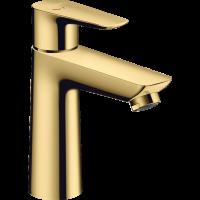 Смеситель для раковины Hansgrohe Talis E с донным клапаном pop-up Polished Gold Optic 71713990