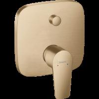 Смеситель скрытого монтажа для ванны и душа Hansgrohe Talis E Brushed Bronze 71745140