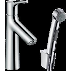 Смеситель для раковины с гигиеническим душем Hansgrohe Talis Select S, хром 72290000