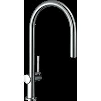 Смеситель Hansgrohe Talis M54 для кухонной мойки с выдвижным душем, хром72802000