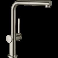 Смеситель Hansgrohe Talis M54 для кухонной мойки с выдвижным душем, под сталь 72808800