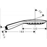 Ручной душ Hansgrohe Raindance Select E 150 3jet, 26550000