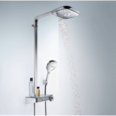 Душевая система Hansgrohe Raindance Select E 300 Showerpipe, 27127000