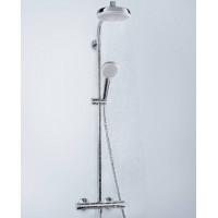 Душевая система Hansgrohe Crometta 160 Showerpipe + термостат 27265400
