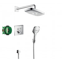 Набор для душа с термостатом Hansgrohe Raindance Select E, 27296000
