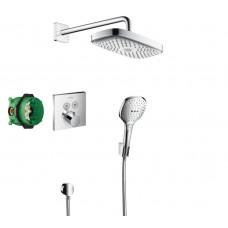 Набор для комплектации душа  HANSGROHE Raindance Select E/ShowerSelect Душевой набор (верхний, ручно