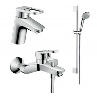 Набор смесителей HANSGROHE для ванны Logis Loop 70 1042019 (71150000+71244000+26553400)
