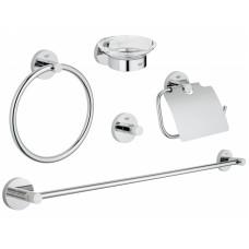 Набор аксессуаров Grohe Essentials New 5в1, 40344001