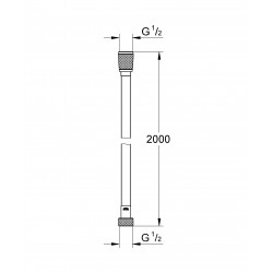 Шланг для душа GROHE Relexaflex 200 см, 28155001
