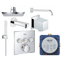 Набор для душа Grohe Grohtherm SmartControl Cube, 23409SC2