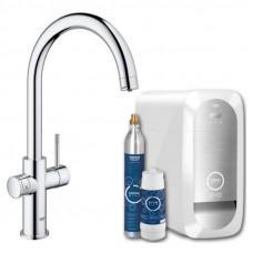 Смеситель кухонный GROHE Blue Home 31455000 с функцией очистки водопроводной воды