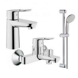 Комплект смесителей GROHE BauLoop 123214S (23337000 + 32815000 + 27598000)