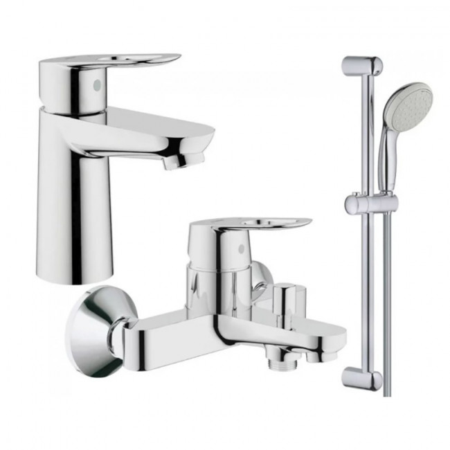 Набор смесителей для ванны Grohe BauLoop, 123214S