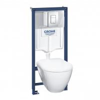 Набор для ванны Grohe Mega Bundle BauLoop (39186000+111042+123214S+40407001) 39186MB0