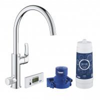 Смеситель кухонный с фильтром Grohe Blue Pure Eurosmart 30383000